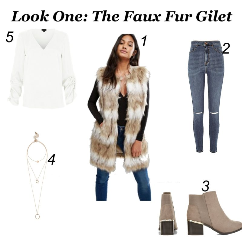 Faux Fur Gilet Lookbook - EMERgingstyles