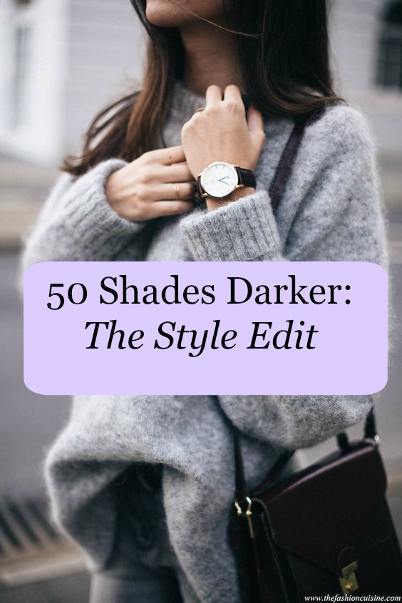 50 Shades Darker: The Fashion Edit, Emergingstyles, 2017 Fashion Fix, Asos, M&S, Riverisland, Boohoo, Irish Fashion Blogger, Fashion Inspiration, Grey, Floral print, bottoms, skirt, lace, shoes, boots, olivia burton, adidas