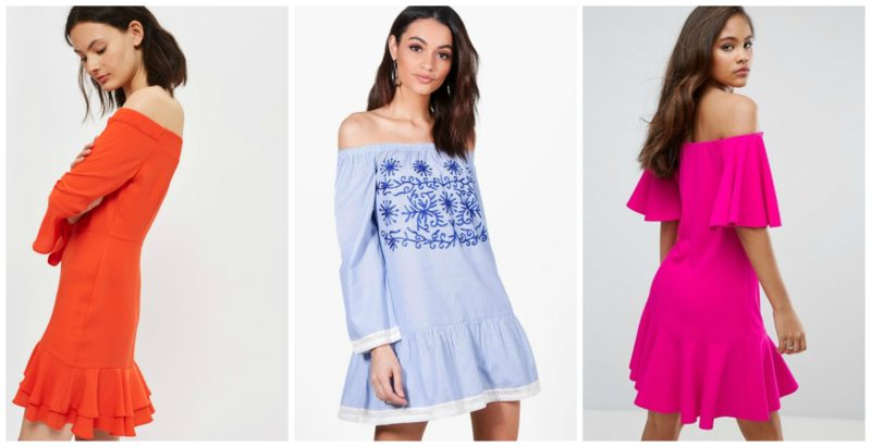 Want to know the quickest way to ensure your wardrobe is on trend this Summer? The Bardot Style top is all you need! Check out this post for 15 of the best versions on offer on the highstreet!