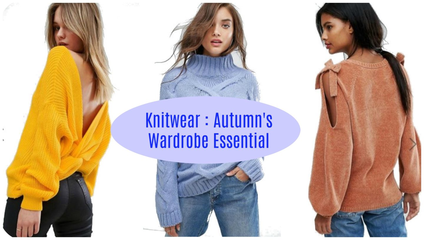 Knitwear; Autumn's Wardrobe Essentials - see more at www.emergingstyles.com! Riverisland, Asos, Boohoo, Zara, Missguided, Miss Selfridge, Vila, Veromoda, Autumn 2017